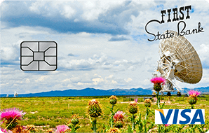 First state bank credit card